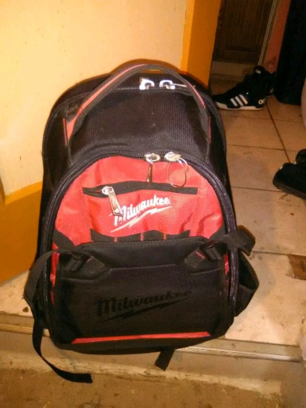 248ffb29435 Used black and red Milwaukee backpack for sale in Sioux Falls - letgo