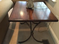 End Table - Wood and Metal Ellicott City