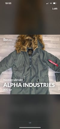 Alpha industries parkas Porsgrunn, 3914