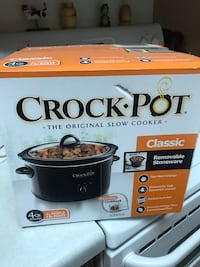 Crockpot new never opened