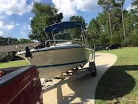Runs great 40+mph new stereo and fish finder. New Bimini top. Turn key ready. 5900 obo some trades Columbia, 29212