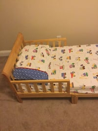 Bed includes frame