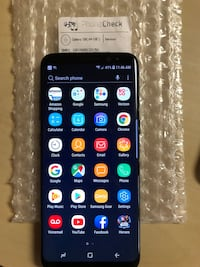Galaxy S8 Black 64 GB Verizon unlocked West Covina, 91792