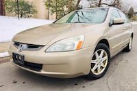 $3900 FIRM ' 2003 Honda Accord Leather No Check Engine Light Heated Seats Colesville