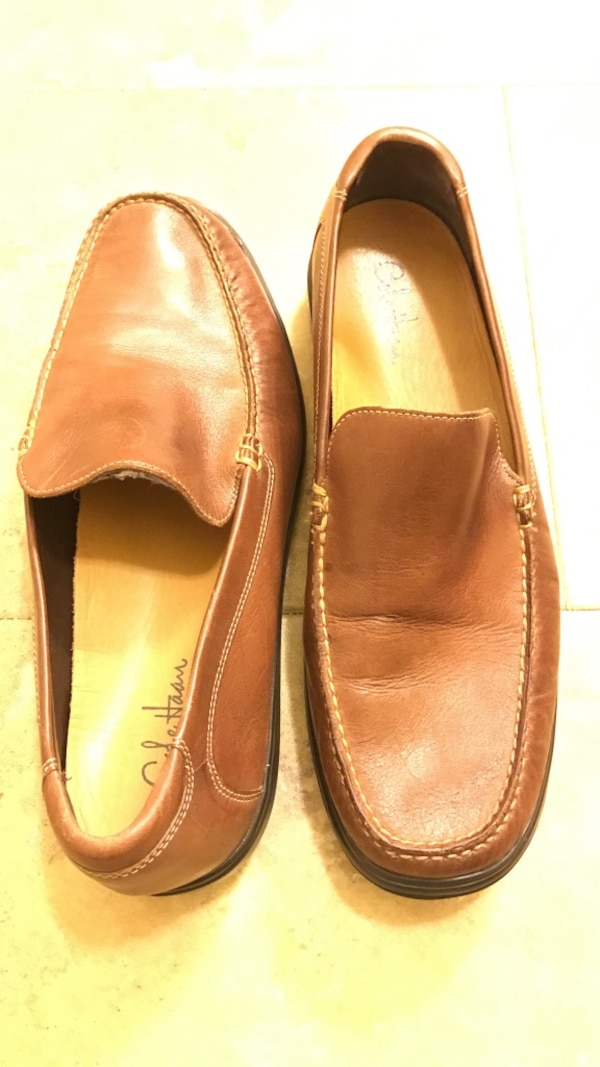 0b69f41fed Used Men's Cole Haan size 12m tan leather loafers for sale in Johns Creek -  letgo