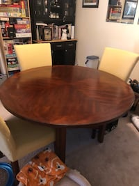 Dining room table with lazy susan Sterling, 20166