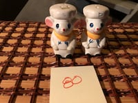 Vintage Chef Mice Salt and Pepper Shakers  Independence, 64052