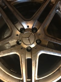 2008 Mercedes C300 Rims with tires. Only 3!!!