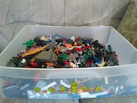 assorted plastic toys in box Fayetteville, 17222