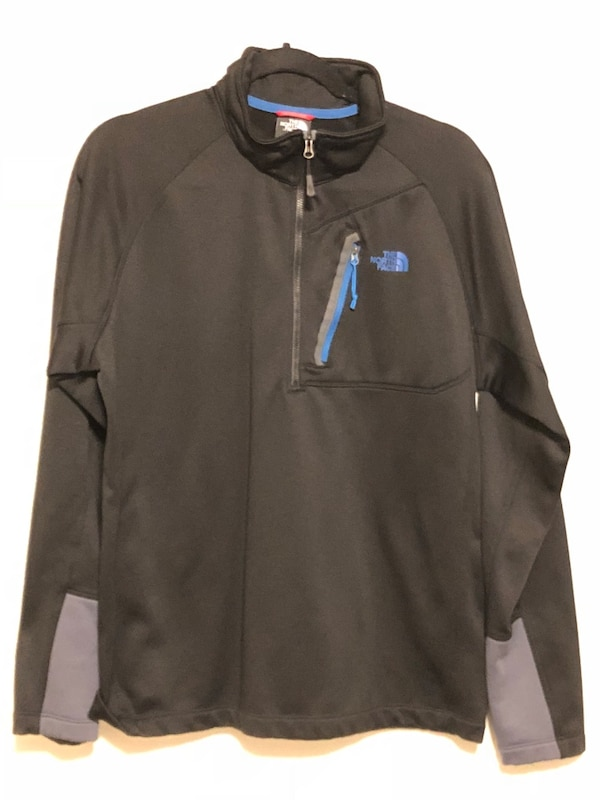 66dd1937d Used Men's North Face Half-Zip Fleece - Size Large for sale in ...