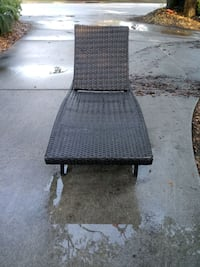 Large Wicker Lounge Chair Mount Pleasant, 29464