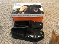 Boy's loafers,  Buster Brown black leather, size 5 Imperial, 15126