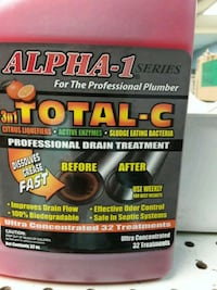 Total C Drain cleaner not sold in stores the best  Streamwood