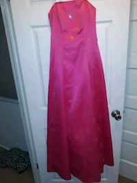 Pink strapless floor length prom dress Martinsburg, 25401