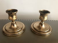 2 brass candle holders  Silver Spring, 20905