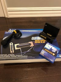 PS4 Guitar Hero Bundle - 2 Guitars, 1 Game, 1 Power Stand and 1 Mic New York, 11372