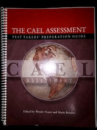 CAEL Assessment: Test Takers' Preparation Guide Guelph, N1G 4S7