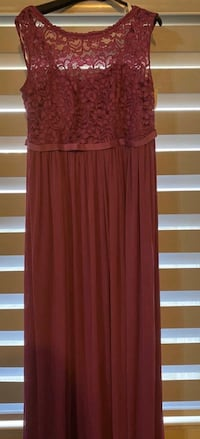 REDUCED!  Violet Dress - David's Bridal - size 18 - paid $220 - new -