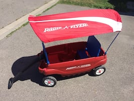 Radio Flyer Deluxe Red Wagon