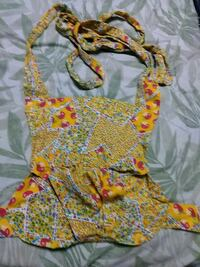 yellow and red floral sleeveless dress London, N6E 2B2