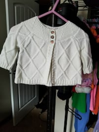 knitted white crop top Orting, 98360
