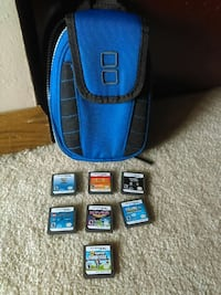 blue and black nintendo backpack.taken care of Sioux Falls, 57106