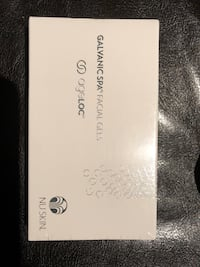 NuSkin galvanic spa facial gels with ageloc
