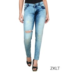 women's blue denim jeans Mumbai, 400053