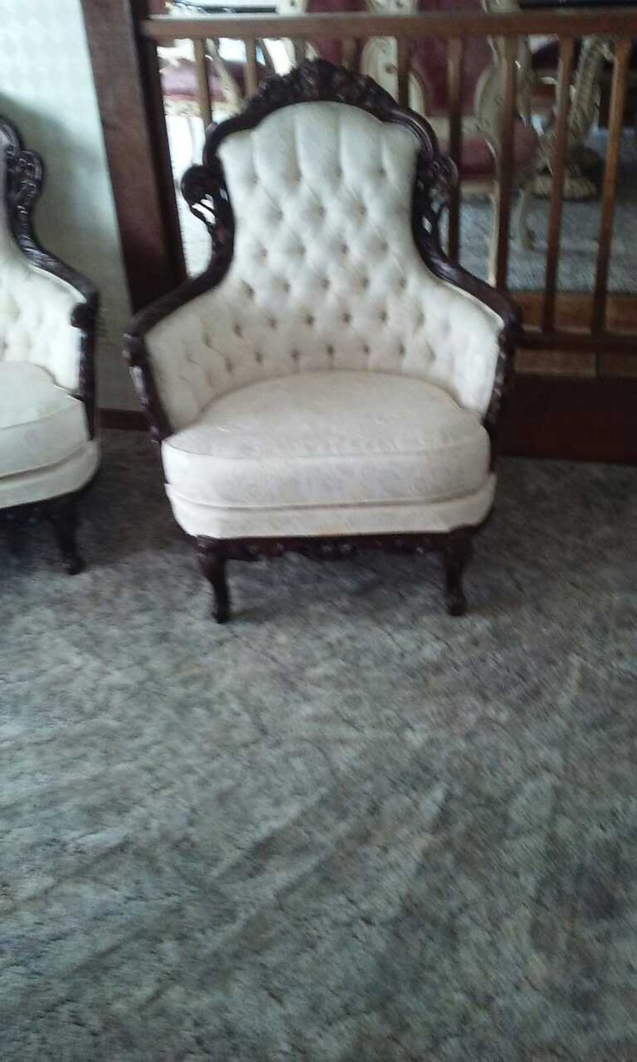 French Provincial Couch Chair And Love Seat In Penngrove - Letgo