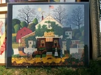 brown wooden framed painting of house Sicklerville, 08081