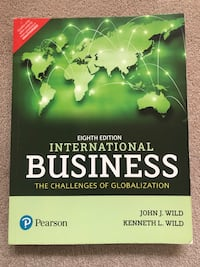 International business textbook Maple Ridge, V2W