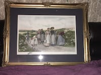brown wooden framed painting of people Acworth, 30101
