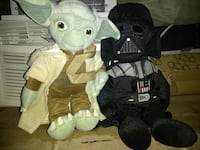 Yoda and Dark Vader Kids Size book bags