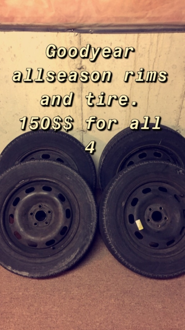 All season - GoodYear Rims and tires 0