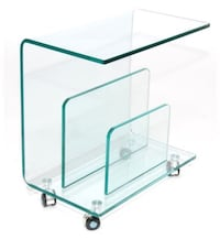 Glass Book Rack Toronto, M6N 3G1