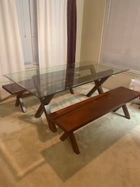 PIER ONE DINING TABLE AND BENCHES Germantown, 20876