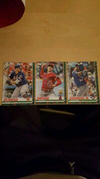 Highly collectible holiday baseball cards 3 card special $300  Toronto, M6S 5A7