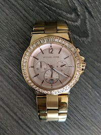 Michael Kors MK5412 Dylan rose tone watch Port Moody, V3H 0E6