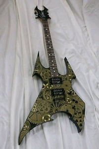 "2003 BC Rich Beast ""Brass City"" Body Art Edition Milford, 08848"