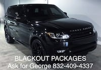 BLACKOUT PACKAGES  Houston, 77074