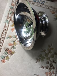 "Stainless steel bowl. Large 30"" wide and deep 12"" Tsawwassen, V4L 2J7"