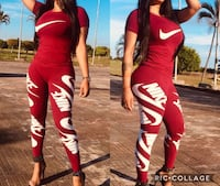 women's red and white Nike sweat pants New York, 10462