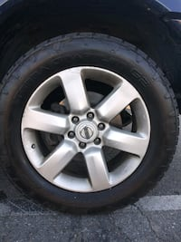 Almost brand new tires and rims