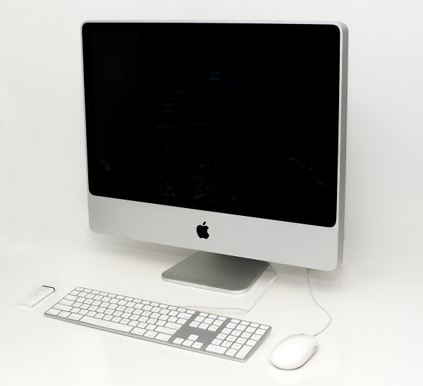 Apple iMac 2.8GHz Core 2 Duo 24-inch Computer w/ extended keyboard, mouse and Apple remote
