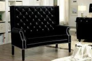 Loveseat/Bench with Crystal Button Gifting * NEW*