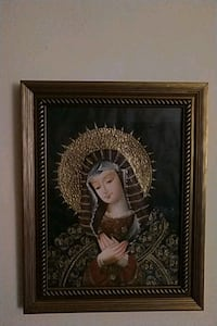 Framed Painting Of Virgin Mary