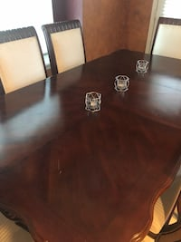 brown wooden table with chairs Fort Worth, 76179