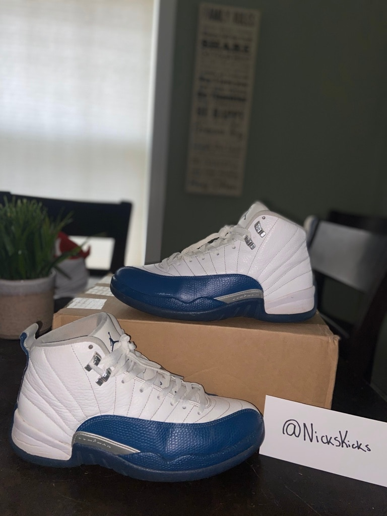 Photo Jordan Retro 12 French Blue