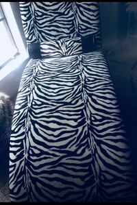 black and white zebra print sofa chair Jackson, 39211