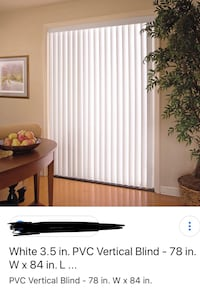 Vertical blinds - vinyl  Richmond Hill, L4C 9B5